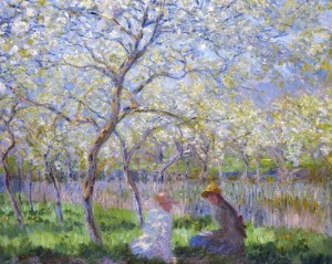 "Claude Monet, ""Primavera"", 1886"