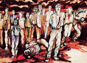La Resistenza in un dipinto di Renato Guttuso