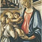 """Sandro Botticelli, """"Madonna con Bambino e due angeli"""", 1468 ca., Galleria Nazionale di Capodimonte, Napoli"""