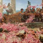 """Sir Lawrence Alma Tadema, """"Le rose di Eliogabalo"""", 1888, collezione privata"""