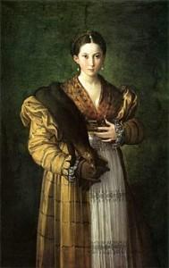 """Parmigianino, """"Antea"""", 1532-34 circa. Napoli, Museo e Gallerie Nazionali di Capodimonte."""